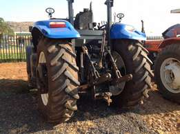 New Holland truck tractor up for grabs at a bargain.