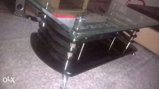 Coffee Table Elegant With hard Glass Top Zimmerman - image 1