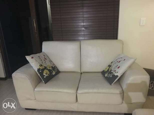 Leather Couch + CoffeeTable Lonehill - image 1