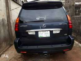 Lexus Gx470 super clean 07 full option very neat no issues tinkan