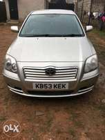 Tokunbo Toyota Avensis for sale from U.K. 2.4m 2005 model