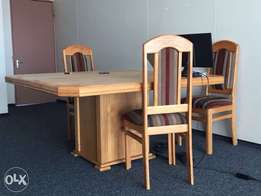 Fine wood dinning set for sale!!!