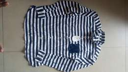 American striped long sleeve for sale