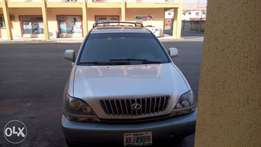 Slightly Used Lexus Rx 300 used by a woman