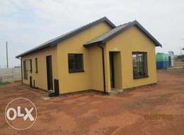 New houses in soshanguve next to a mall and two new private school