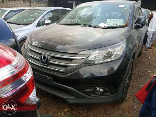 Newshape of Honda CRV Black 2012 model. KCP Mombasa Island - image 5