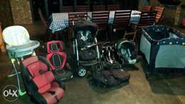 Pram and equipment set