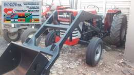 Massey Ferguson 165 used Tractor with Front end loader
