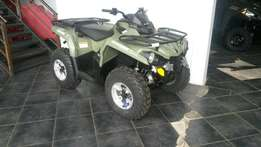 Can-Am Outlander L 570.V-Twin fuel injected