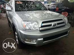 Direct Lagos foreign used 2005 Toyota 4runner. V6. Negotiable