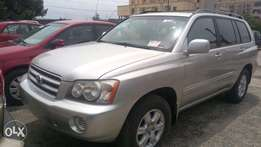 For Sale Toyota Highlander 2004 Toks