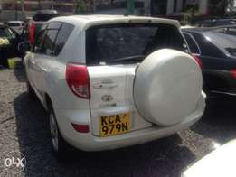 Toyota Rav 4 KCA pearl white clean buy and drive