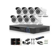AHD 8 Channel CCTV Kit + Remote Viewing