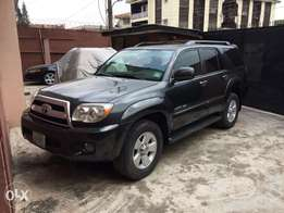 clean registered Toyota 4Runner limited for quick sale