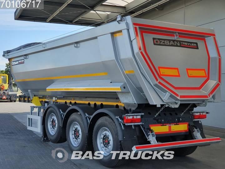 Ozsan 25m3 Stahl Kipper SAF Liftachse - 2019