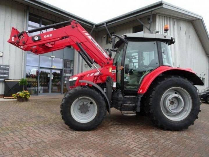 Massey Ferguson 5610 dyna 4 - £37,950 +vat - 2016