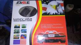Eagle car alarm, new in shop free certificate and installation.