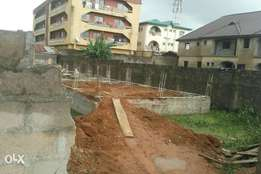 Half a plot in Jakande estate isolo