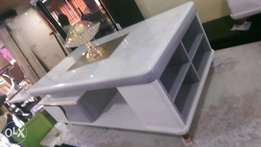 Quality Cream center table marble