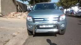 2015 Ford Ranger 4x2 3,2,D ,Automatic Colour Silve Grey