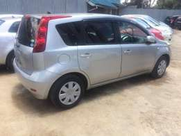 Nissan Note model 2010 low genuine millage on sale