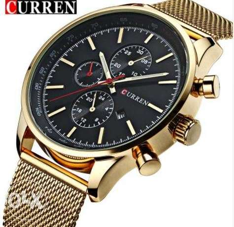 CURREN New Gold Quartz Watches Surulere - image 2