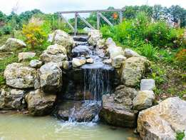Home water fall and fountains designer