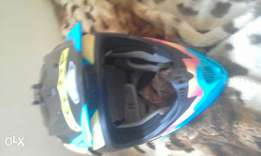 Motorbike helmet...need to sell asap..message me don't call..lost sim