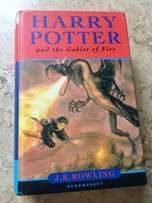 Harry Potter and the Goblet of Fire Hardback Book