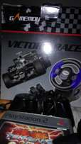 Power inverter steering wheel 5 ps2 remotes and a 1tb hard drive