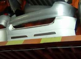 Toyota Fielder all models rear bumpers