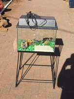 Never been used Fish Tank with stand
