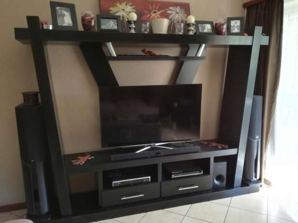Large tv unit. Solid wood with ebony veneer Annlin - image 2