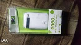 New 6600 FIL powerbank