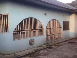 executive 3bedroom s/compound with boys-quarters at Rumuibekwe