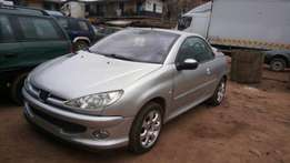 Tokunbo Peugeot 207cc convertible