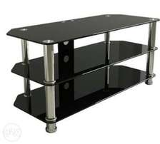 Brand new tv stand black in color for sale at 4000k negotiable
