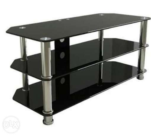 Brand new tv stand black in color for sale at 4000k negotiable Mtwapa - image 1