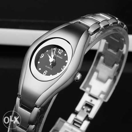 Ladies' grey cuff Bracelet wrist watch Nairobi CBD - image 1