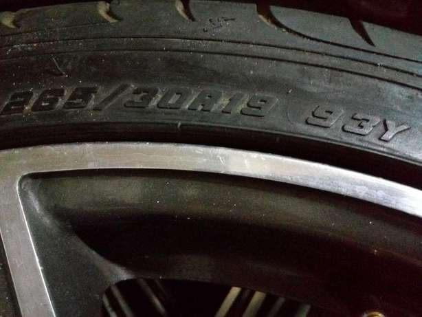 19 Inch Mercedes Rims and Tyres, 265/30R19. Bargain price. Johannesburg - image 3