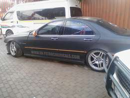 Mercedes-Benz S55 AMG stripping for parts