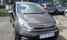 Kia Rio 1.4 Colour Brown Model 2016 5 Door Factory A/C & MP3 Player