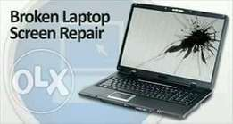 laptop screen replacement and repairs