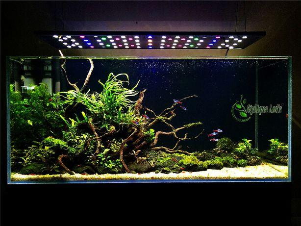 Akwarium Stylaqua Leds 100 Power Led Lampa świt żmierzch