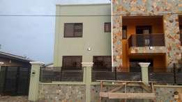 Executive 2 bedrooms self-compound house for rent in Spintex