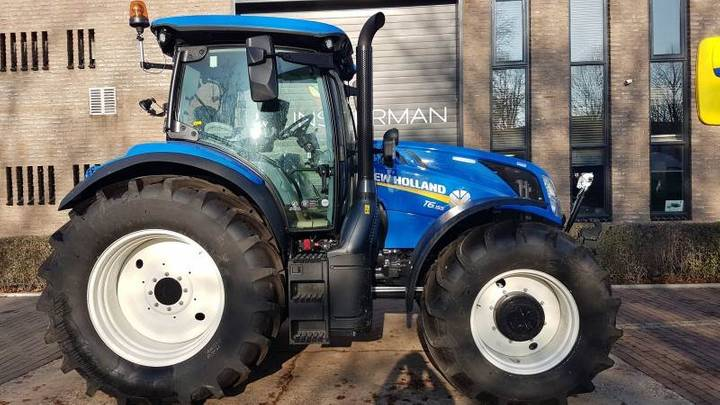 New Holland T6.155 - 2018