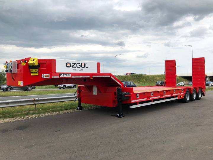 Ozgul HEAVY DUTY 100 T lowbed trailer (3 axle with tandem 3.60 m) - 2019