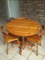 4 pieces table and chairs