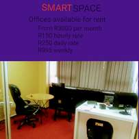 Office Space available for rent- must be seen
