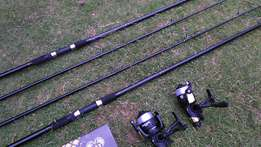 Carp fishing starter set